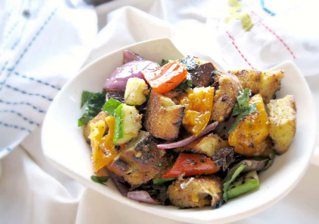Grilled Vegetable Panzanella | Coley Cooks...
