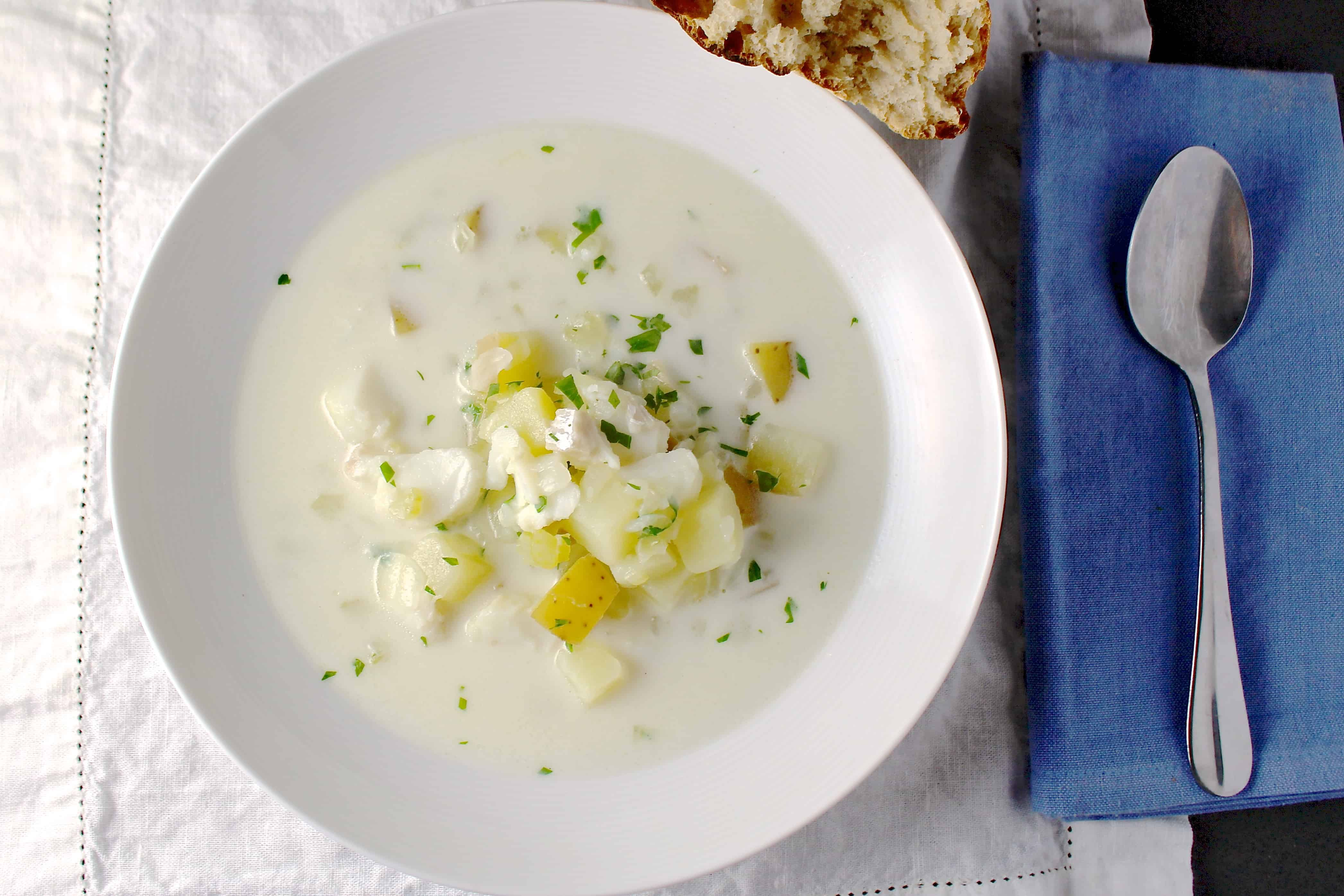 how to cook chowder fish