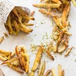 Oven Baked Parmesan Truffle Fries (Video!)
