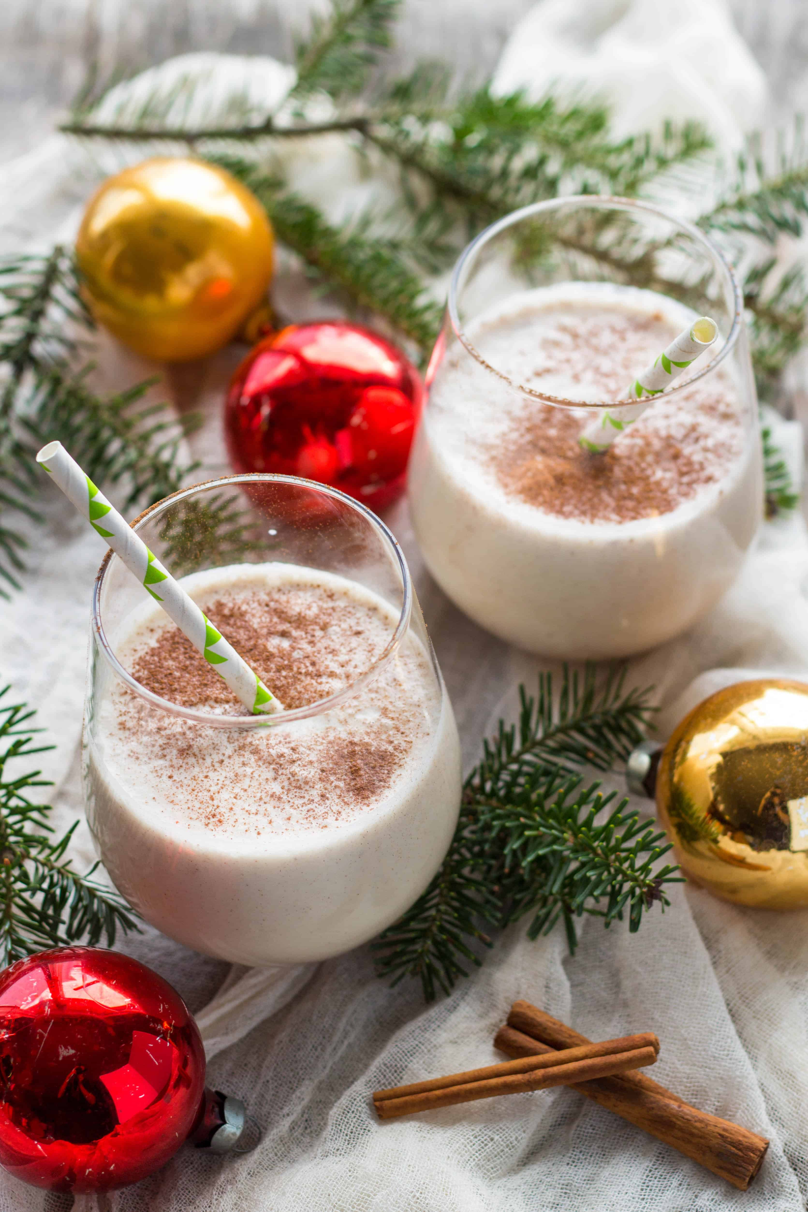 Coquito - Puerto Rican Style Eggnog (Video!)