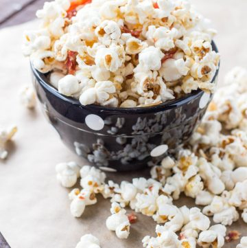 Truffled Popcorn with Parmesan + Prosciutto (Video!)