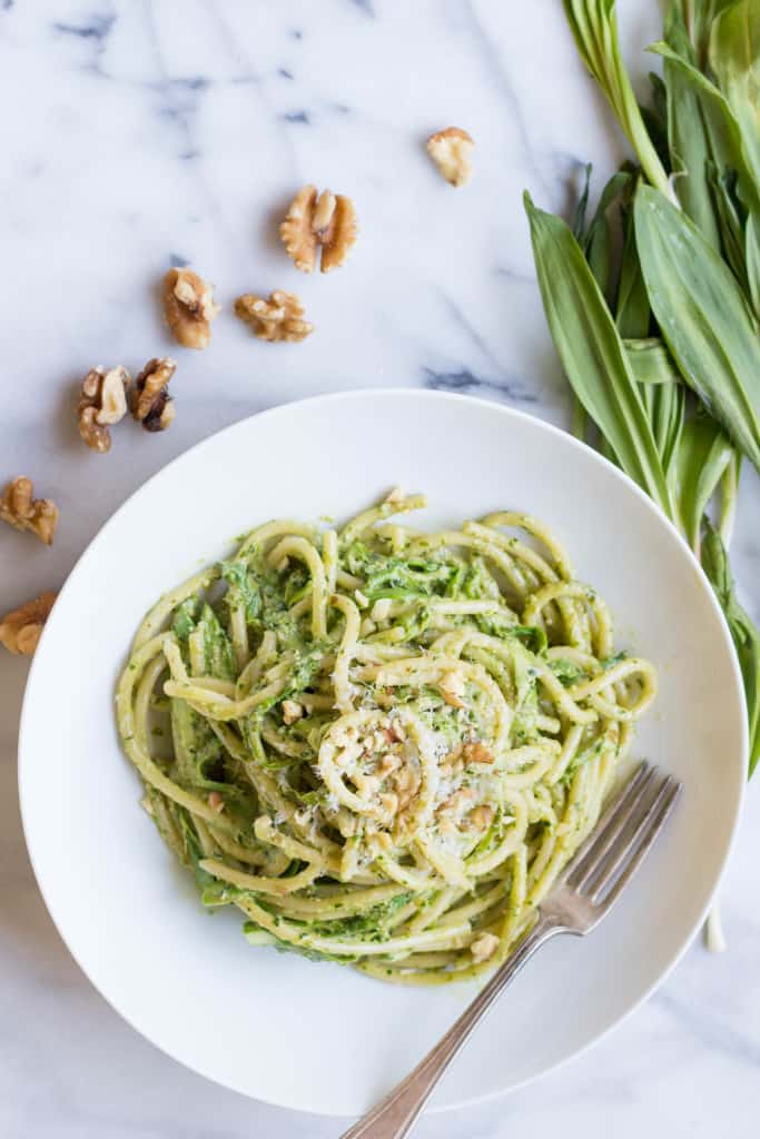 Asparagus And Ramp Pesto Pasta Recipes — Dishmaps