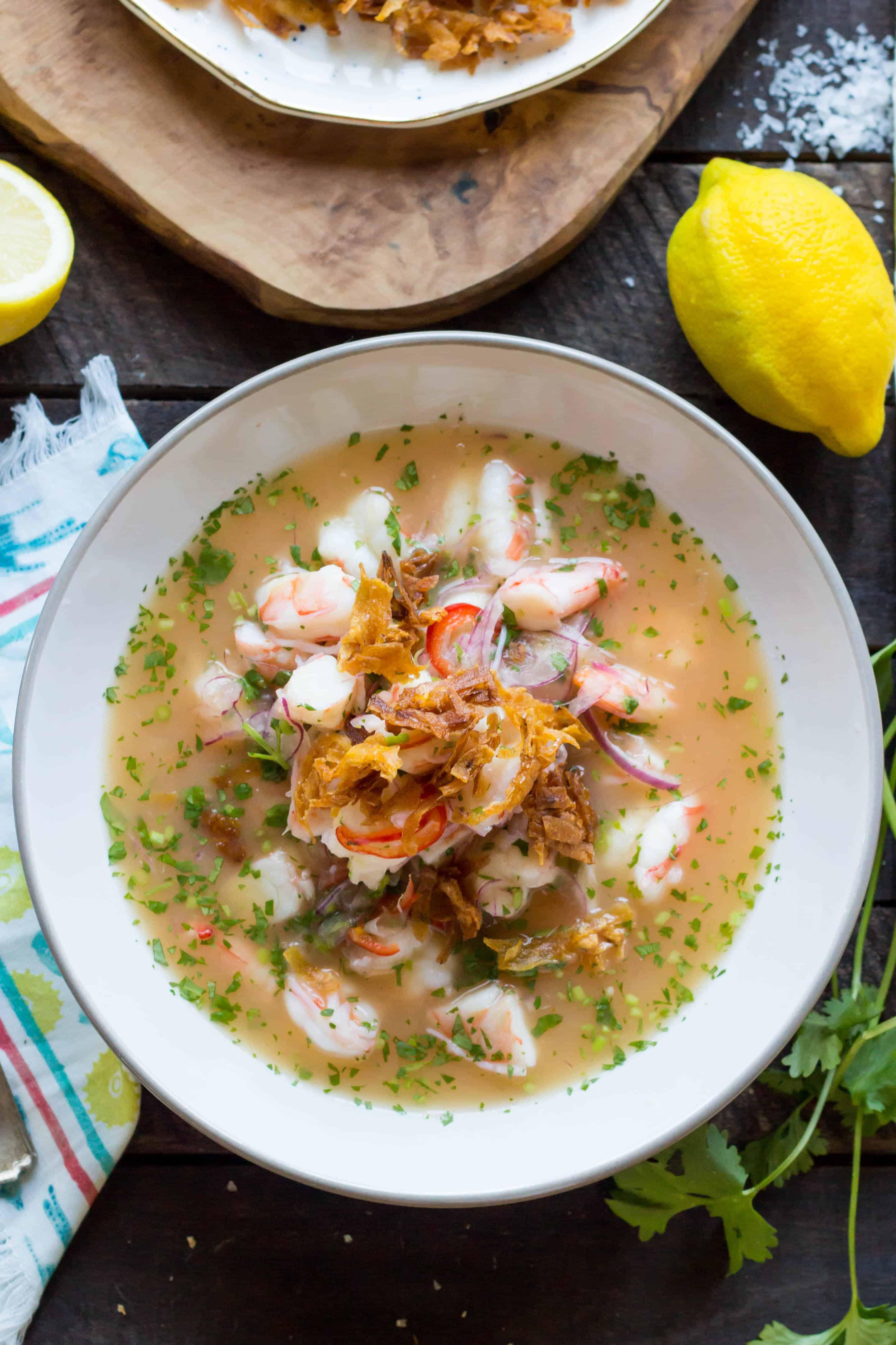 Ecuadorian Shrimp Ceviche
