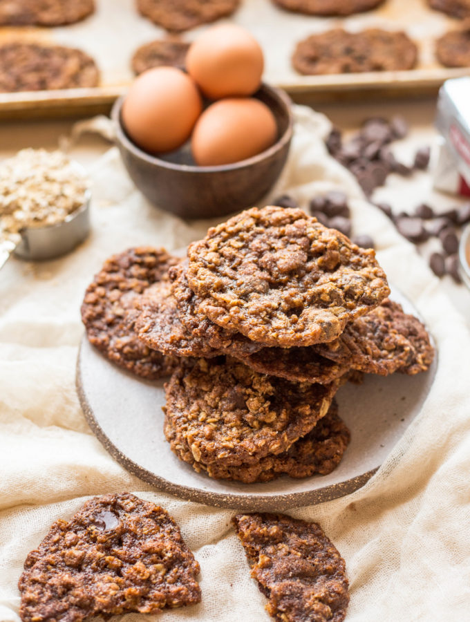 My Mamma's Oatmeal Chocolate Chip Cookies (Video!)