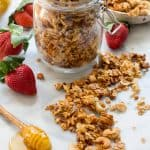 Honey Butter Granola (Video!)