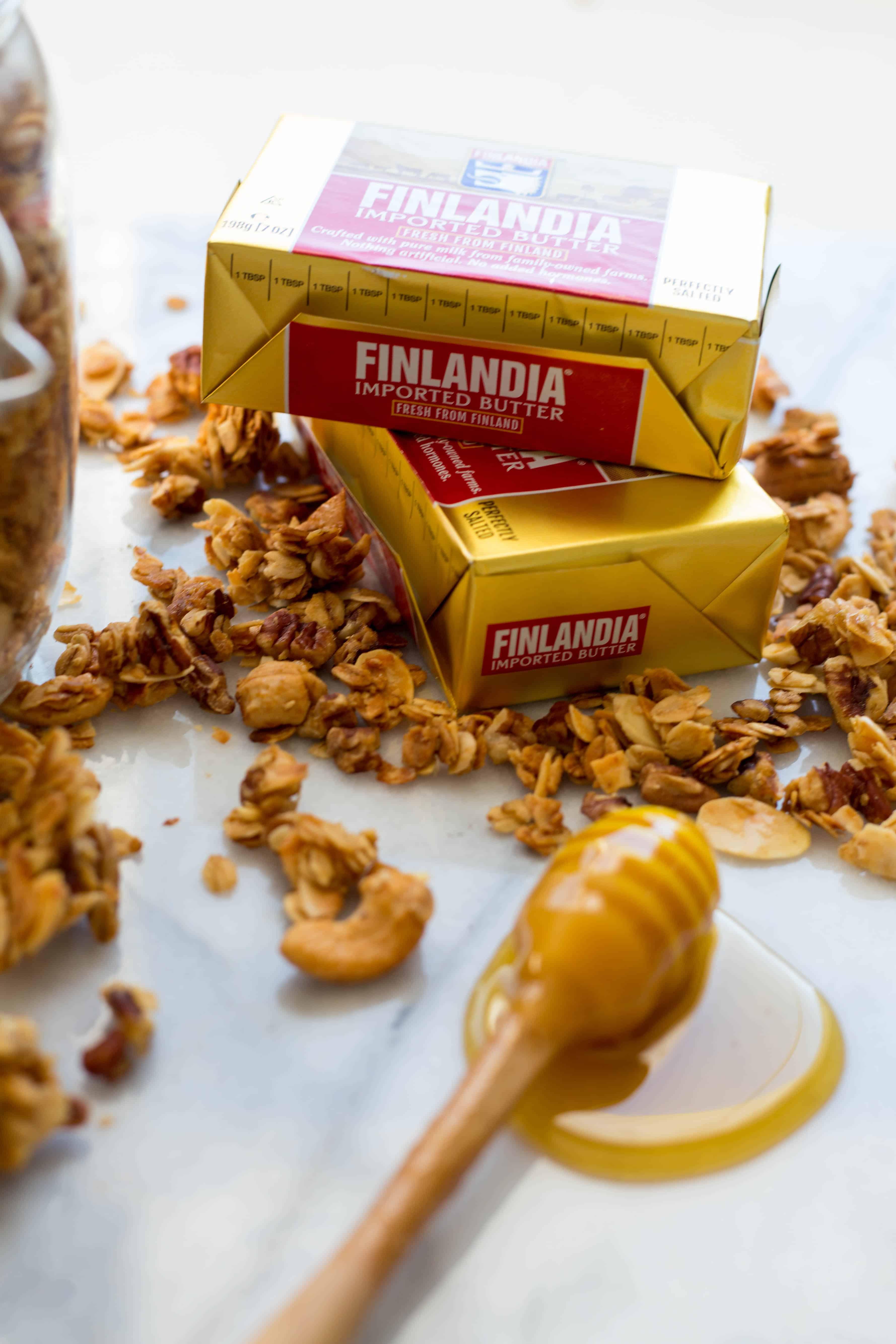 Honey Butter Granola (Video!)