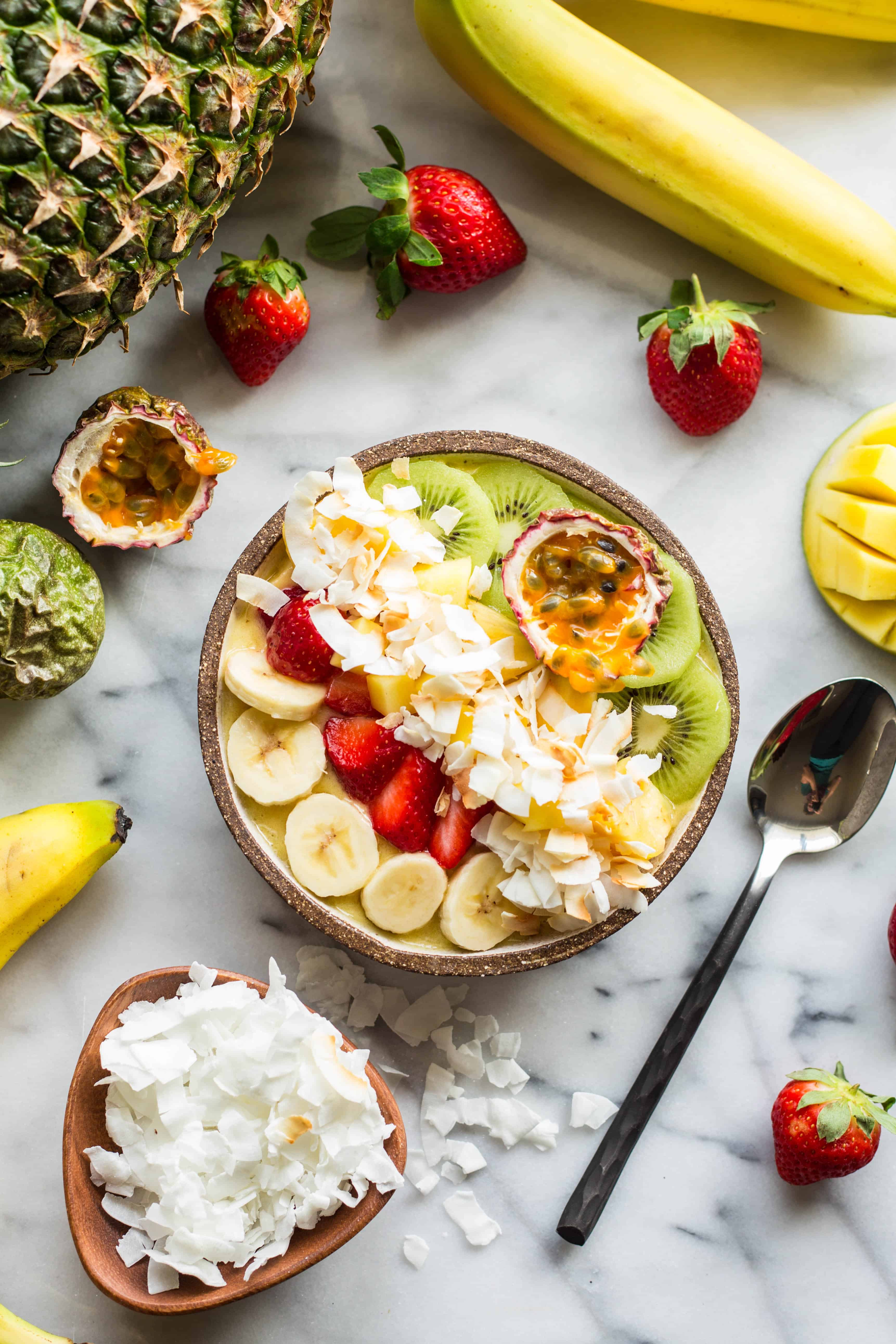 Tropical Smoothie Bowls (Video!)